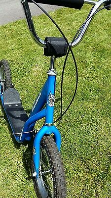 """Mission BoardWalk Push Scooter electric blue 14"""" wheels Nearly New"""