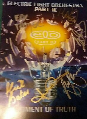 ELO part 2 tour programme signed