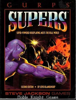 Steve Jackson GURPS Supers Supers (2nd Edition, 4th Printing) SC VG+