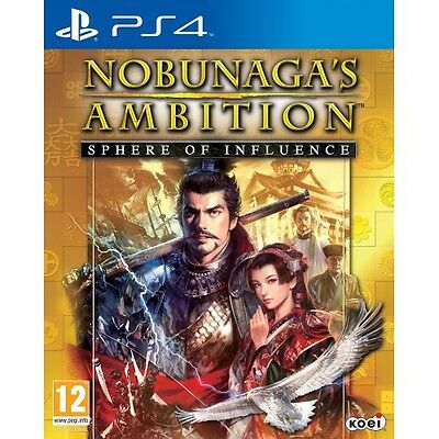 Nobunagas Ambition: Sphere of Influence Sony PlayStation 4 Used