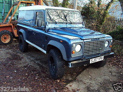 Land Rover 110 commercial defender 2.4 turbo diesel  6 speed
