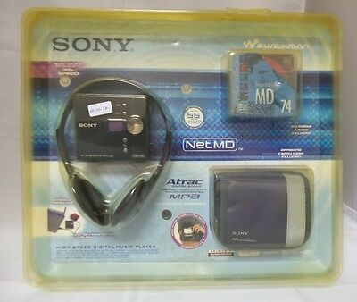Sony MZ-NE410/C High Speed Net MD Walkman Recorder
