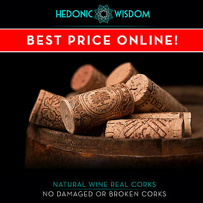 NATURAL WINE CORKS - weddings, decor, crafts, fishing. Fast Dispatch UK