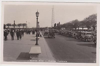 PC BUENOS AIRES VINTAGE MOTOR CARS , REAL PHOTO ARGENTINA  , c 1927
