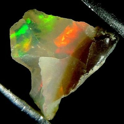 2.10 Cts Natural Ethiopian Welo Fire Opal Rough Gemstone Play of Color