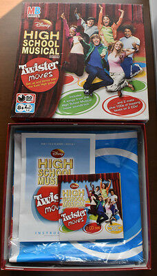 Disney High School Musical Edition Twister Moves MB Games
