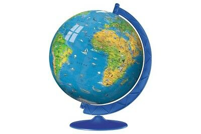 Ravensburger Giant Children's Globe 3D puzzle and stand 180 pieces