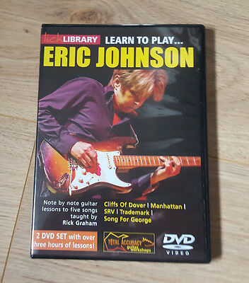 Learn to Play Eric Johnson Lick Library DVD
