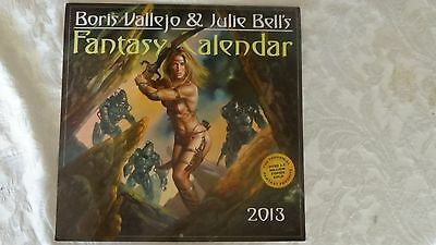 BORIS VALLEJO & Julie Bell ~ 2013 Fantasy calendar Inspiring & Powerful