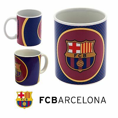 Barcelona FC Mug - Latest Bullseye Design