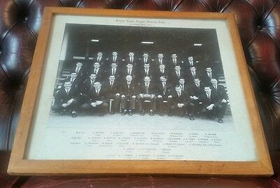 Authentic British Rugby League Touring Team Australian Tour 1958 Photo SIGNED