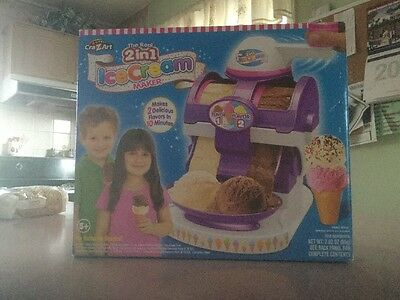 Cra-Z-Art The Real Ice Cream Maker Kit Kitchen Pretend Play Toys Food for Kids