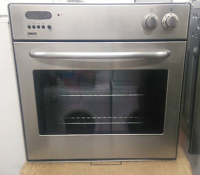 Zanussi ZBF860X Fan Assisted Single Electric Oven In Stainless Steel