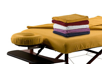 Flannel Stretch Sheet Massage Table Cover Massage Couch Cover Saffron Yellow