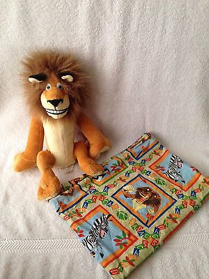 Kohls Cares Dreamworks Madagascar Alex Lion Plush Stuffed Animal & Pillowcase