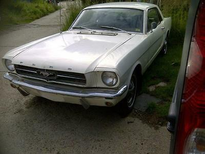 1965 Ford Mustang Coupe 1965 coupe