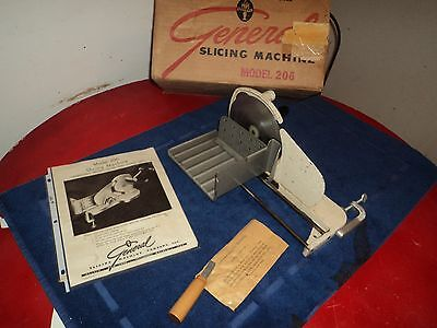 "1955 Antique General Slicing Machine ""Reduced"""