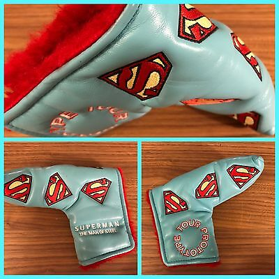 Superman Putter Headcover