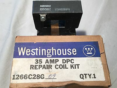 Westinghouse 1266C28G09 35 AMP Contactor  DPC Coil 240 VAC  MEB4036  NEW