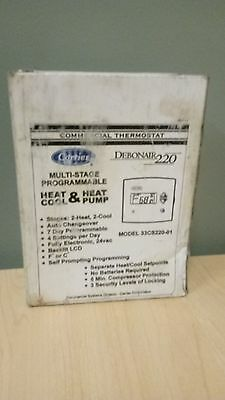 Carrier 33CS220-01 - Debonair 220 Model Multi-Stage Thermostat