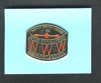 Boy Scouts Order of the Arrow Pin  Indian Drum Lodge #152 Scenic Trails Council