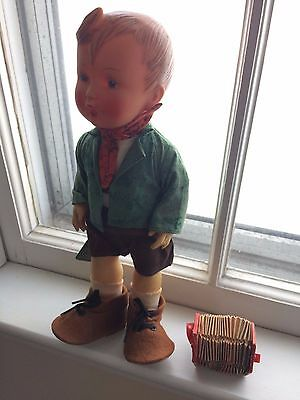 Hummel 1960S ANDERL doll good condition