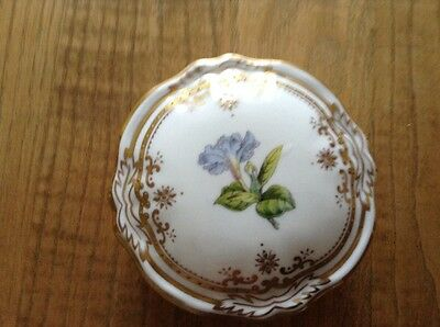 spode stafford flowers Small Lidded Trinket box