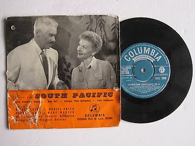 """EXCERPTS FROM """"SOUTH PACIFIC"""" - 7"""" 45 rpm EP vinyl record"""