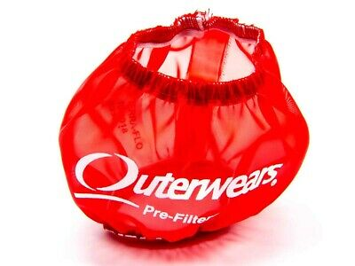 Outerwears Red Shielded 10-1018-03 Prefilters - OUT10-1018-03