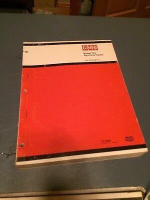 Case 770 Agri-King Series Tractor Parts Catalog Book Manual No A1115