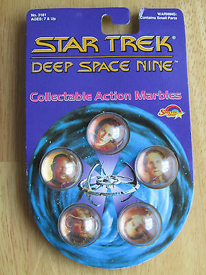 Star Trek Deep Space Nine Collectable Action Marbles 1993 Unopened