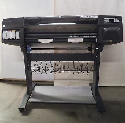 "HP DesignJet 1050C Plus 36"" Color Wide Format Printer Plotter C6074B"