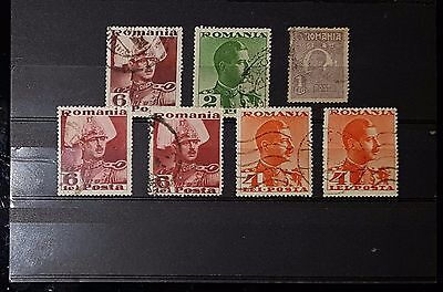 ROMANIA Mixed Used Stamps (No1165)