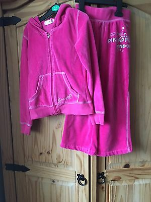 Girls Pineapple Tracksuit Age 7-8 Yrs