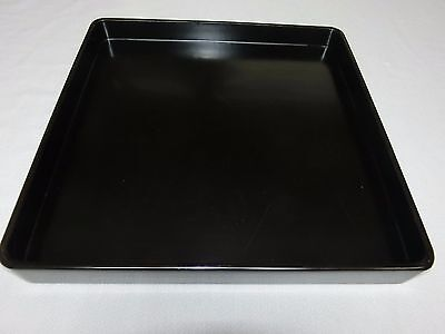 Japanese OLD  lacquer ware dinner tray (zen)       (1)