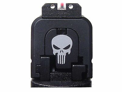 Tactical Skull Design Slide Cover Plate for Glock by Fixxxer LLC. Fits G43 9MM