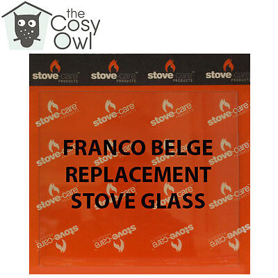 Franco Belge Replacement Stove Glass - Heat Resistant Glass 4 Franco Belge Stove