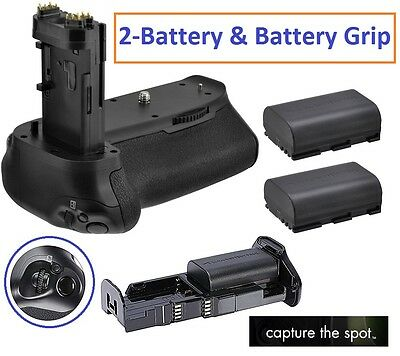 Prof. Multi Power Battery Grip With 2-Pc LP-E6 Battery For Canon EOS 7D Mark II