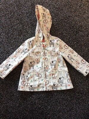 baby girl 18-24 months Rain Mac Tu Lovely And Light Easy To Wipe Clean