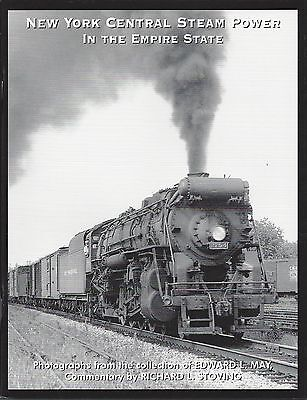 New York Central STEAM POWER in the EMPIRE STATE on main lines and branches, NEW