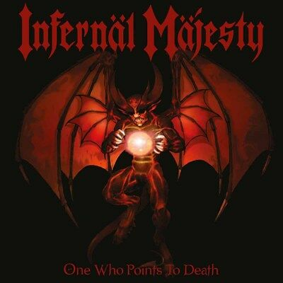 INFERNAL MAJESTY - One Who Points to Death  LP  BLOOD-RED