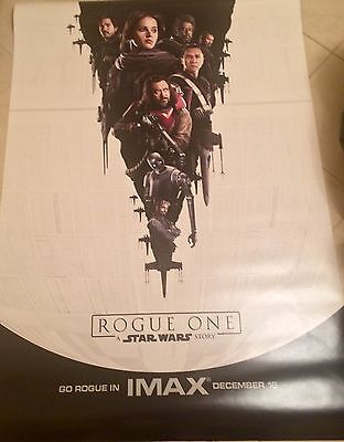 Rogue One A Star Wars Story 4x6ft IMAX Bus Shelter Movie Poster