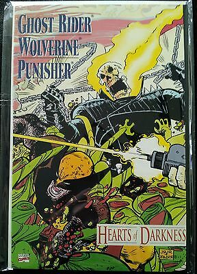 Ghost Rider Wolverine Punisher: Hearts Of Darkness 1991 Gn Marvel Comics