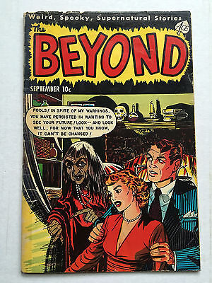 THE BEYOND #15 September 1952 Ace Comics - Golden Age Precode Horror