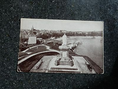 1926 fr postcard- Tenby from Castle Hill - Pembrokeshire Wales