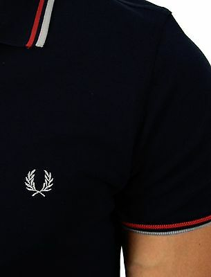 Fred Perry - Polo - Homme - Marine - Manches courtes -Taille S