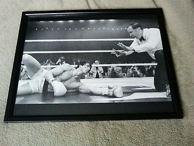Sylvester stallone /Rocky Framed Picture/Print
