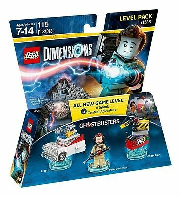 Lego Dimensions Ghostbusters Level Pack 71228 New and Sealed