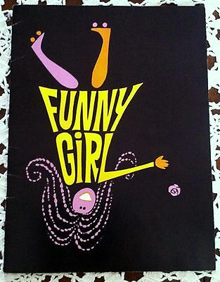Original 1965 Broadway  Program for Funny Girl , Fanny Brice, Marilyn Michaels