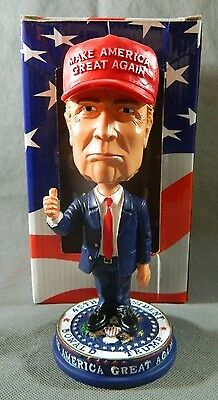 Official Donald Trump Inauguration Bobblehead Presidential Seal and Hat